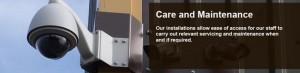 cctv care and maintenance