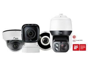multiple cctv cameras by idis