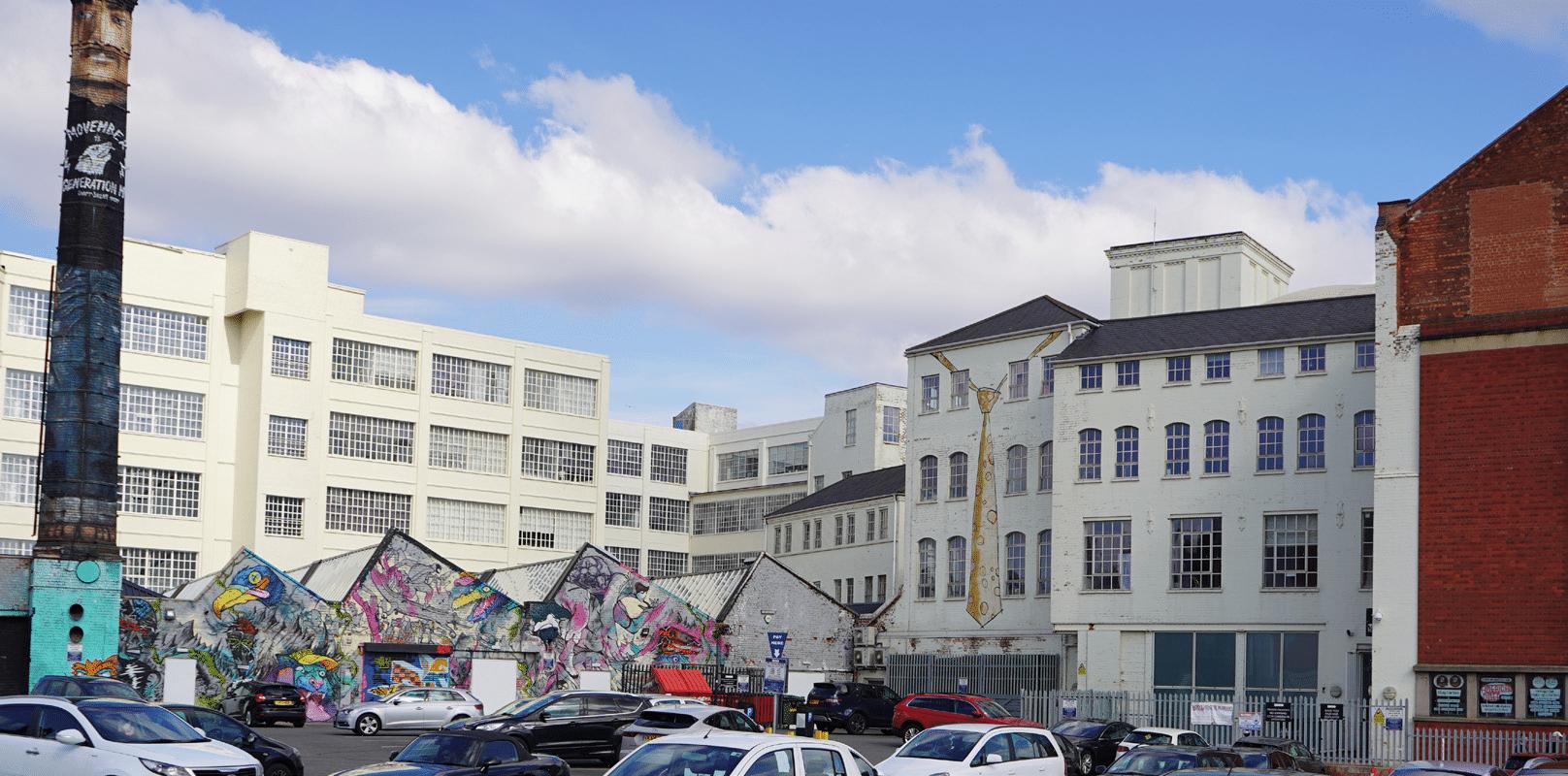 custard factory graffiti