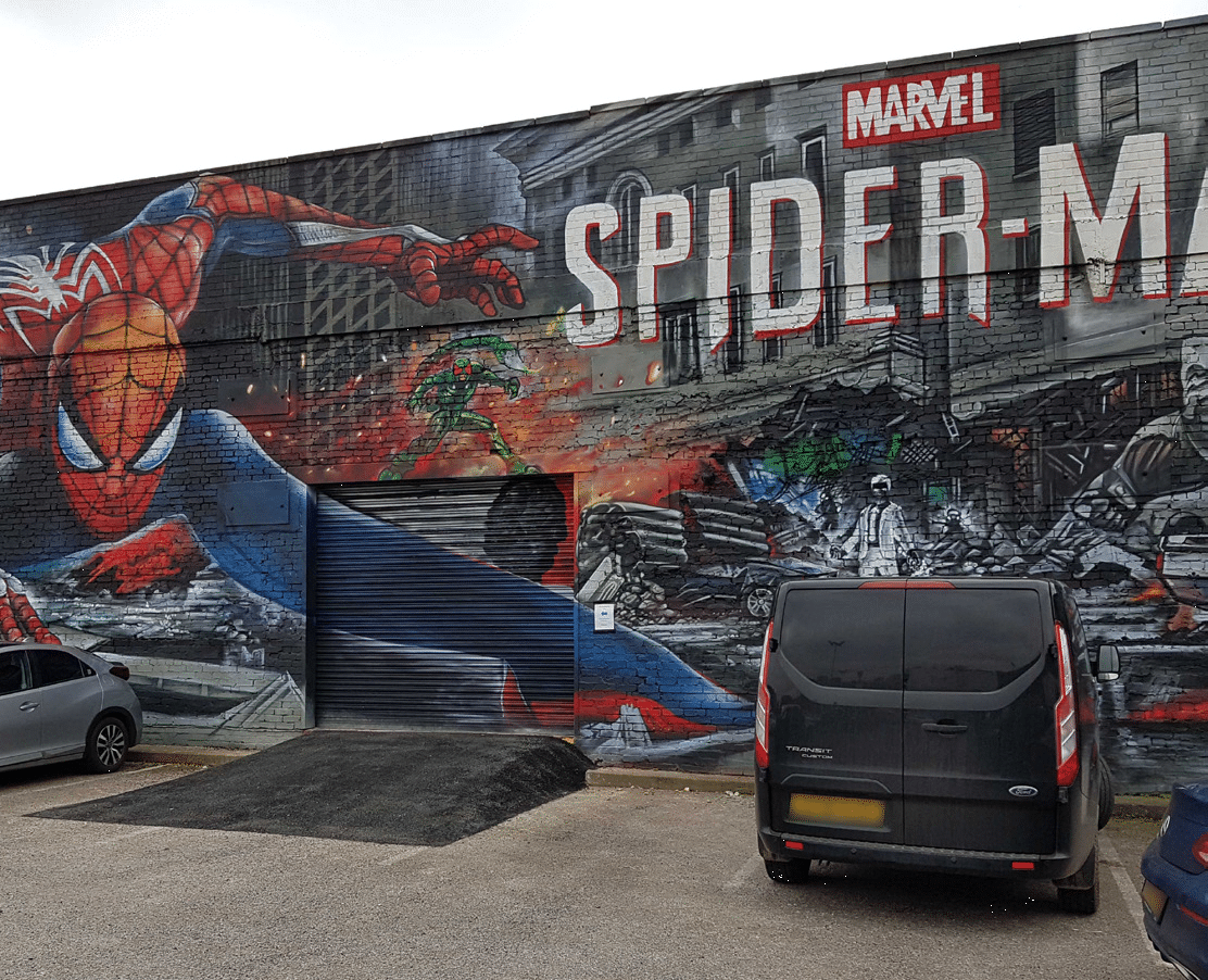 custard-factory-spiderman-graffiti