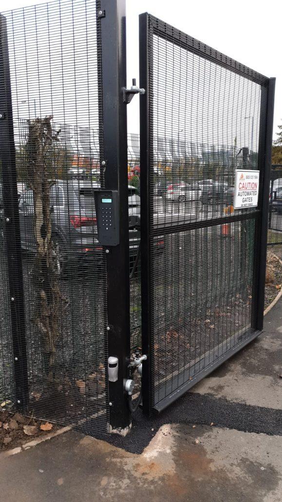 installed gates