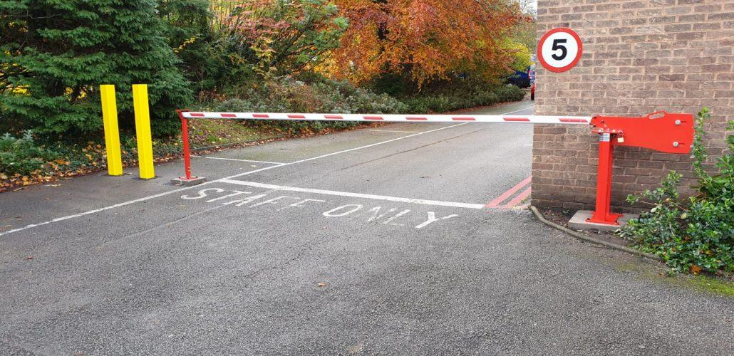 Automatic car park barriers