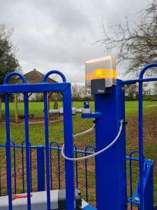School Gate Installation