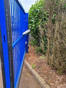 School Manual Gate Installation